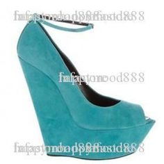 Fashionable design 2012 NEW With suede Wedge shoes Peep-toe shoes Platform shoes