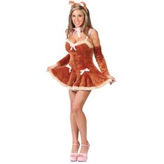 Touch Me Teddy Bear Costume