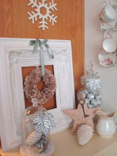 Christmas or Winter cloches @ STARSHINE CHIC: More Winter Decor