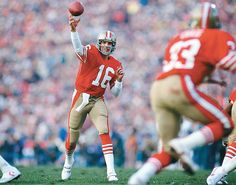 Joe Montana.  The one and only!