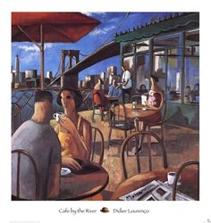 Cafe by the River, Didier Lourenco