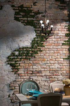 Moss decor - оформление стен