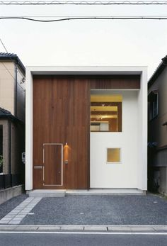 Permanent Link to : Simple Design at Small Minimalist Home Design by AUAU Architecture Modern Small House Design, Small Modern Home, Minimalist House Design, Minimalist Architecture, Mini Loft, Residential Architecture, Interior Architecture, Interior Design, Japanese Style House