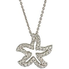 Roberto Coin 18k Diamond Starfish Pendant from Borsheims