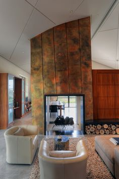 RoomReveal - Fieldstone House - Sonoma, CA by Gregg De Meza