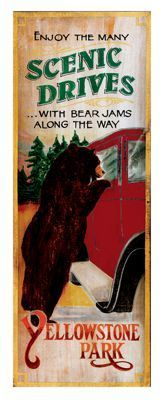 a36c08724ae5 Red Horse Bear Jams Vintage Sign