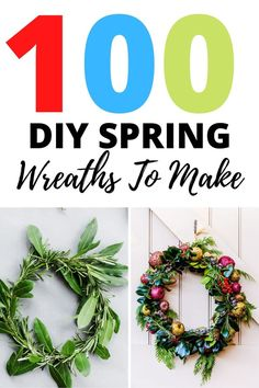 Make these gorgeous and easy wreaths that are perfect for spring. You'll LOVE all these ideas and there's a full step by step tutorials to help you. Diy Spring Wreath, Diy Wreath, Paper Flower Wreaths, Paper Flowers, Diy Decoupage Easter Eggs, Umbrella Wreath, Make Your Own Wreath, Frame Wreath, Faux Flowers