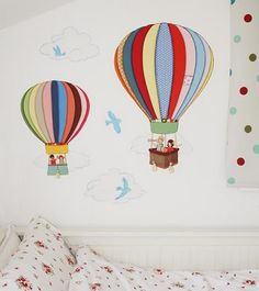 The Lark: Belle & Boo wall stickers - more images