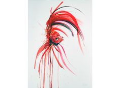 Siamese Fighting Fish I by Dave White POA Watercolour Original 76cm x 56cm - See more at: http://www.lawrencealkingallery.com/artists/dave-white/work/siamese-fighting-fish-i#sthash.Lifm20do.dpuf