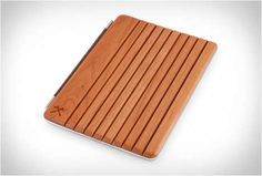 Durable Wooden Tablet Covers - This Handcrafted Cover Protects Your Devices from Dust and Scratches