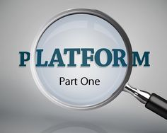 Over the next three weeks, I will be exploring the issue of author platforms and how to get one. At the conclusion of this series of blog posts...