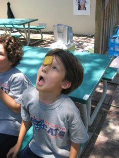 minute-to-win-it games for a kid's birthday party