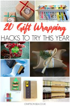 Need to be a bit more organised with gift wrapping or need some cute and simple inspiration? You need these gift wrapping hacks in your life!