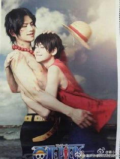 luffy x ace cosplay Best Cosplay, Awesome Cosplay, Anime Cosplay, Movie Costumes, Cosplay Costumes, One Piece Cosplay, One Piece Ace, Fandom, Vampire Knight