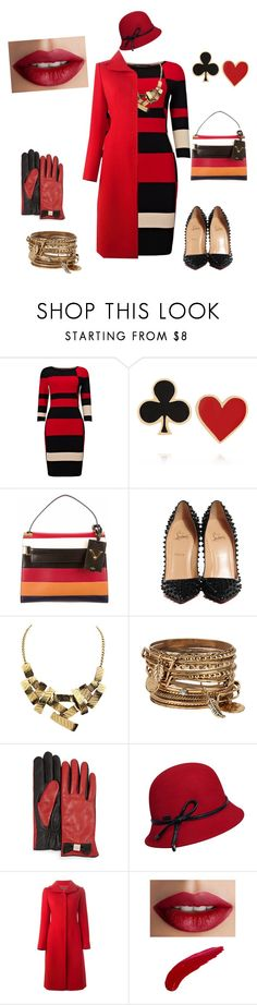 """""""Untitled #260"""" by schatzi-467 ❤ liked on Polyvore featuring mode, Phase Eight, Alison Lou, Valentino, Christian Louboutin, ALDO, Kate Spade, Dolce&Gabbana et TheBalm"""