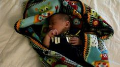 #100BlanketsOfLove has kept 70 new babies (and counting) snuggly and warm