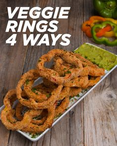 Veggie Rings 4 Ways by Tasty