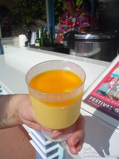 Mango  Mousse from Epcot Food & Wine Festival