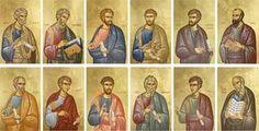 "Twelve Apostles laminated icon card set. 2X3"" pocket size."