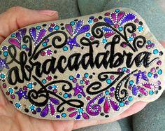 respirar pintado rocas pintado piedras / soltar por LoveFromCapeCod