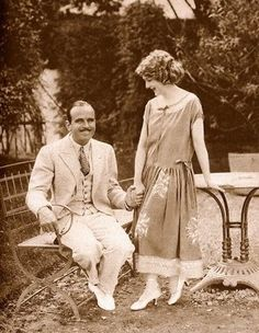 """Pickford was described as: """"The # 1 whore of the world's biggest son-of-a-bitch.""""  Actually, they look pretty happy here :/"""