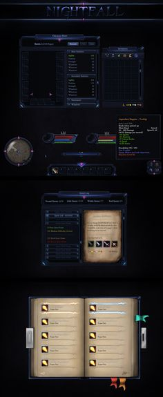 Nightfall GUI by VengeanceMK1 on DeviantArt