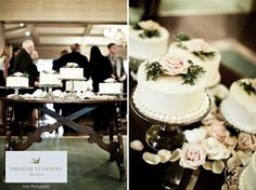 Elegant White & Gold Minnesota Wedding - Every Last Detail White Wedding Cakes, Elegant Wedding Cakes, Trendy Wedding, Summer Wedding, Summer Centerpieces, Card Box Wedding, Wedding Games, Cake Designs, Wedding Colors