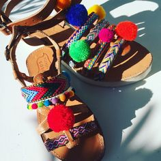 Handmade leather sandals Mother and daughter  Follow us in Facebook