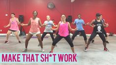 T-Pain - Make That Sh*t Work ft. Juicy J (Dance Fitness with Jessica) as usual a solid routine from Jessica. I MESS UP IN THE HAND ROUTINE ON THIS ONE AND MAKE UP MY OWN!!!