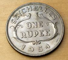 1994 Seychelles 10 Cents Fish Brilliant Uncirculated Coin