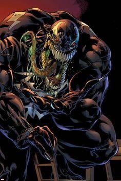 Marvel Extreme Style Guide: Venom Marvel Comics Poster - 30 x 46 cm Marvel Venom, Marvel Villains, Marvel Comics Art, Marvel Comic Books, Marvel Heroes, Marvel Marvel, Juggernaut Marvel, Venom Spiderman, Evil Villains