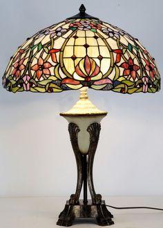 Gold Aurene TIFFANY STYLE LILY Art Glass Shade ART NOUVEAU Light Lamp Sconce