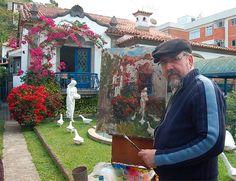 Post sobre as belas pinturas de Virgílio Dias/ Post about amazing painting by Virgílio Dias