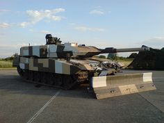 Leopard 2 PSO (Peace Support Operations) Main Battle Tank (Germany)