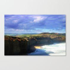 Headlands, Seascape, Landscape, Beaches, Cliffs, Clouds, Sky, Waves, Australia.