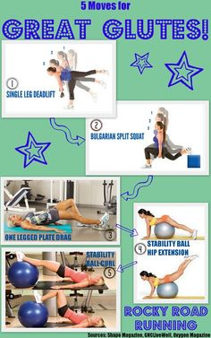 Butt Toning and Glute Strengthening Moves