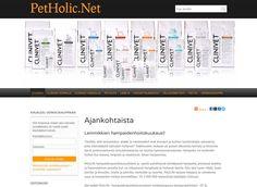 PetHolic.Net verkkokaupasta CLINIVET -täysravinnot koirille ja kissoille sekä PetzLife hampaidenpuhdistus- ja turkinhoitotuotteet.
