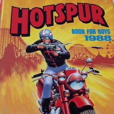 1988 Hotspur Book for Boys Annual Book. Retro by FadoVintage Irish Language, Books For Boys, 1980s, The Originals, Comics, Retro, Children, Comic Book, Shop