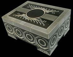 circuit board art circuit board box theo kamecke started rh pinterest com