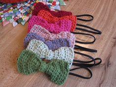 Ravelry: Crochet Bow on Elastic Headband pattern by LivelyCrochet - Rachel Michaels