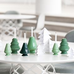 The popular designer candle holders, designed by Marianne Nielsen, are a perfect example of how to preserve the Christmas traditions and symbolism in a modern home.