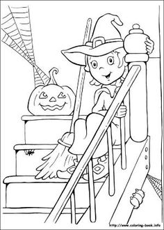 halloween witch s printable coloring pages printable and coloring book to print for free. Find more coloring pages online for kids and adults of halloween witch s printable coloring pages to print. Halloween Pumpkin Coloring Pages, Halloween Coloring Pictures, Halloween Coloring Pages Printable, Witch Coloring Pages, Adult Coloring Pages, Coloring Books, Free Coloring, Hello Kitty Halloween, Feliz Halloween