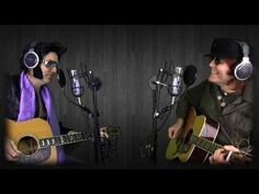 John Lennon and Elvis Presley - Unplugged and Relaxed