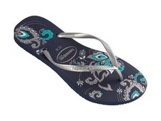 363b8cb2a890f1 Check out the havaianas slim season  navy blue at Agua Viva USA Blue Flip  Flops