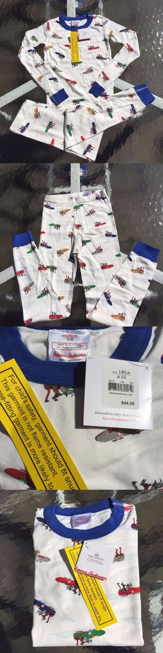 Sleepwear 84544: Hanna Andersson Awesome Holiday Cotton Boys Pajama Set 8-10 Years, 140 Cm New!! -> BUY IT NOW ONLY: $31.34 on eBay!