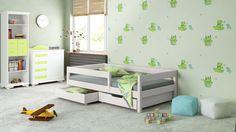 Filip łóżko drewniane dla dziecka z barierką