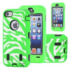 Cocoz® Deluxe Printed Hard Soft High Impact Hybrid Case Combo for Apple Iphone 5c (Iphone 5c, Zebra Hot Green)--0002 Sale - http://mydailypromo.com/cocoz-deluxe-printed-hard-soft-high-impact-hybrid-case-combo-for-apple-iphone-5c-iphone-5c-zebra-hot-green-0002-sale.html