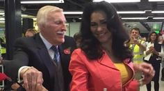 ITV News: Bruce Forsyth launches Norwegian's new flights to Puerto Rico