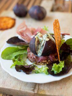 Exquisite Vorspeise mit Feigen und Roquefort hauptspeisen rezepte salat…