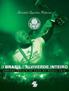 Luis Felipe Scolari - Palmeiras Campeão - capa livro Palmeiras (Foto: Divulgação)